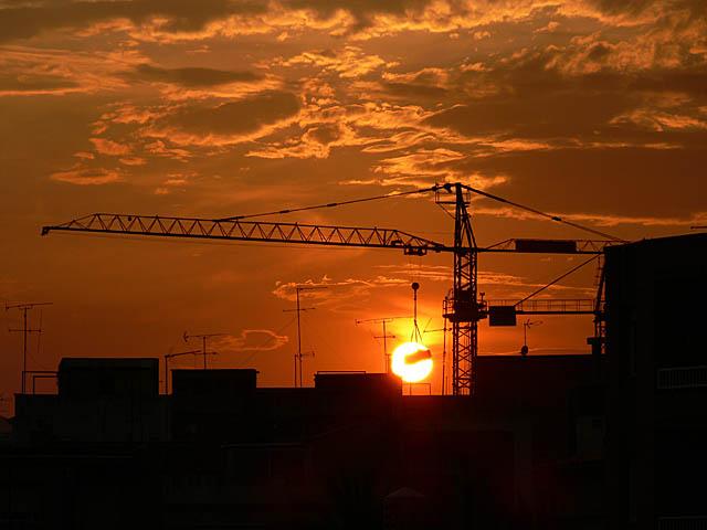 baldiri : tramonto under construction : BALDIRI06073001.jpg