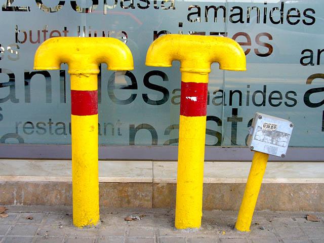 baldiri : tres tubs grocs : BALDIRI06122201.jpg